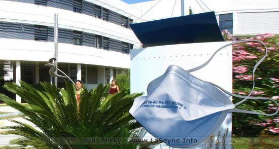 Distribution des Masques de Protection contre le Covid19 dans le Var