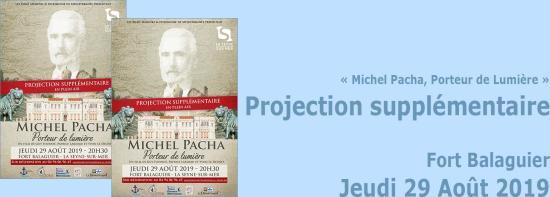 « Michel Pacha, Porteur de Lumière »: Projection supplémentaire du Documentaire, le 29 Août 2019