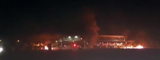 #GiletsJaunes : 17 Personnes placées en Garde à Vue après l'Incendie du Péage de Bandol