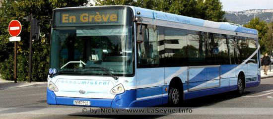 Grève des Bus, le 24 Janvier 2020