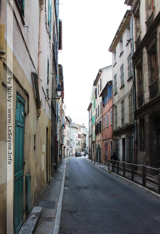 Rue d'Alsace et rue Berny