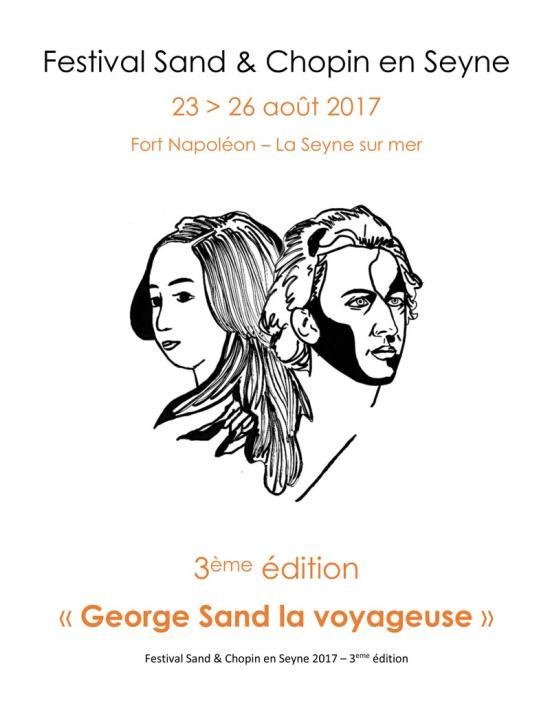 3ème Edition du Festival Sand & Chopin en Seyne du 23 au 26 Août 2017