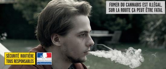 Campagne de la Sécurité routière sur les Dangers du Cannabis au Volant