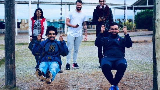 Sourire ovale, le joli Projet mené par Mohamed Boughalem, un Joueur de La Seyne, auprès d'Orphelins au Maroc