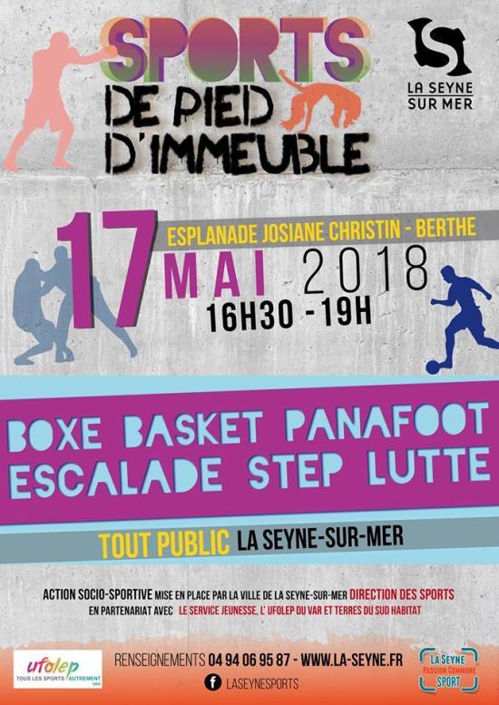 La Seyne sur Mer: Sports de Pied d'Immeuble, le 17/05/2018