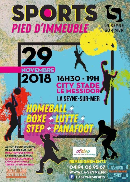 Sports de Pied d'Immeuble, le 29/11/2018 à La Seyne sur Mer
