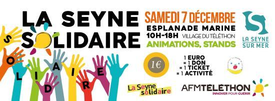 Le Téléthon 2019 à La Seyne, Samedi 07 Décembre