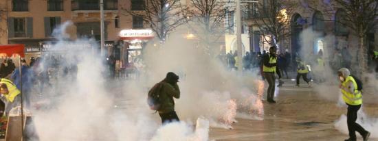 L'IGPN saisie après la Blessure à l'Œil d'un #GiletJaune Seynois par un Projectile lors d'une Manifestation à Toulon