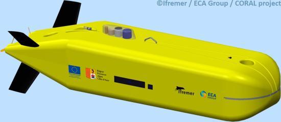 L'Ifremer dévoile son prochain Robot Sous-marin Autonome (AUV) ultra-profond - 6.000 m