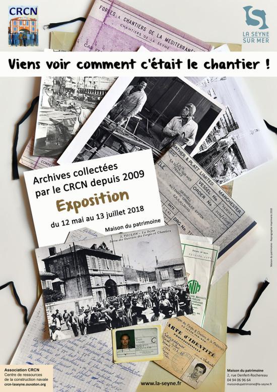 La Seyne sur Mer: Viens voir comment c'était le Chantier !.. Expo