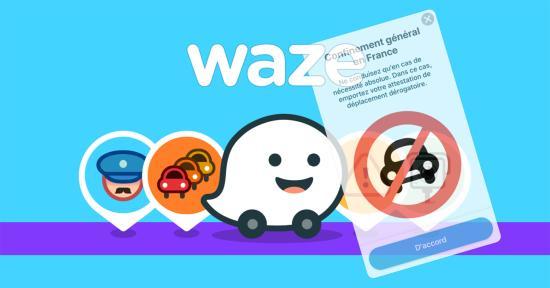 #Coronavirus #Covid19: L'Application Waze désactive le Signalement de Présence policière