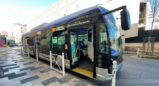RMTT: Le premier Bus propre du Réseau Mistral roule sur la Ligne 18
