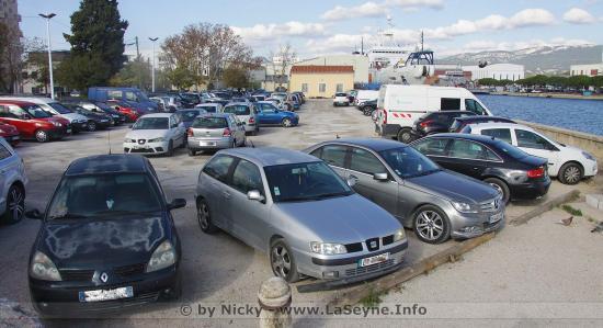 Travaux: Fermeture provisoire du Parking Aristide-Briand, du 06 au 09/04/2021