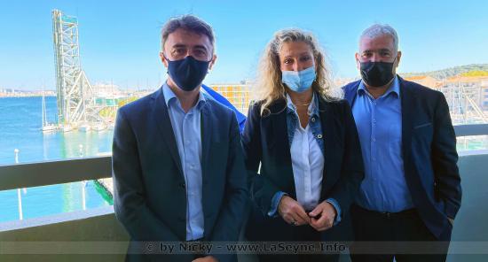 Ecologie: Rencontre entre Nathalie Bicais et deux Représentants ministériels