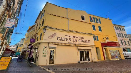Torréfaction Cafés, La Cigale, à La Seyne sur Mer