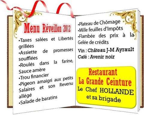 Menu De Noel Grand Chef.Menus Pour Le Reveillon De Noel Laseyne Info