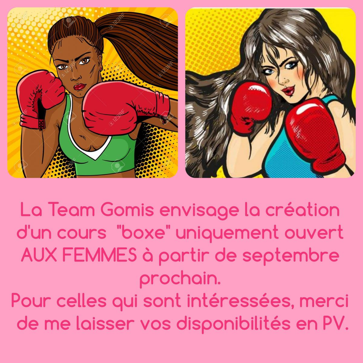 TeamGomis WomanBoxing