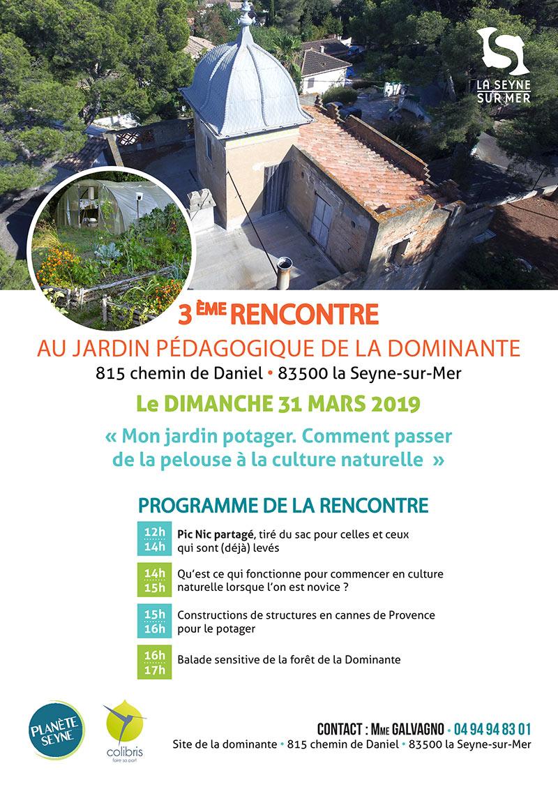 Laseyne Info La 3eme Rencontre Au Jardin Pedagogique De La