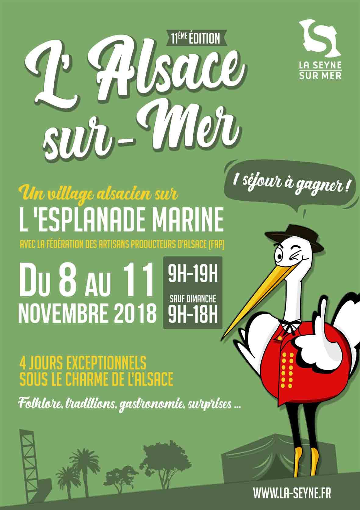L'Alsace sur Mer 2018: 11ème Edition du 08 au 11 Novembre