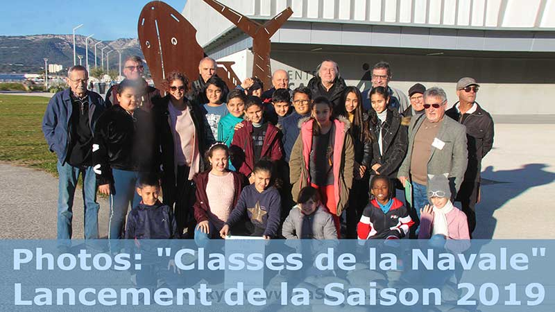 "Photos: ""Classes de la Navale""... Lancement de la Saison 2019"