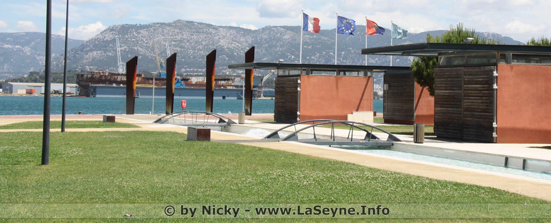 Des Parcours sportifs au Parc de la Navale