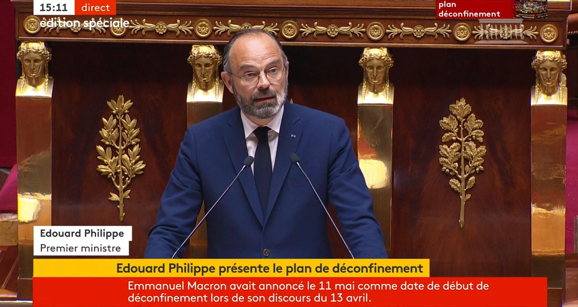 #Coronavirus #Covid19 et Déconfinement: Les Annonces d'Edouard Philippe du 28/04/2020