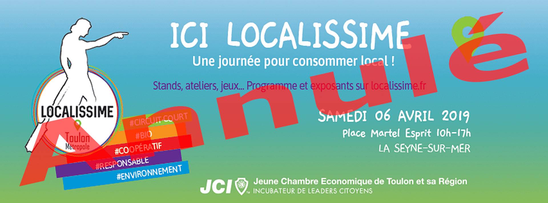 Ici Localissime: Une Journée pour consommer local, le 06 Avril 2019 -