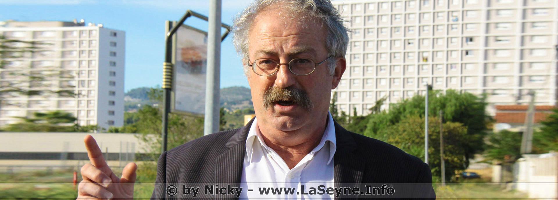 Marc Vuillemot: Polices nationale et municipale à La Seyne; des Propos choquants et des Contrevérités
