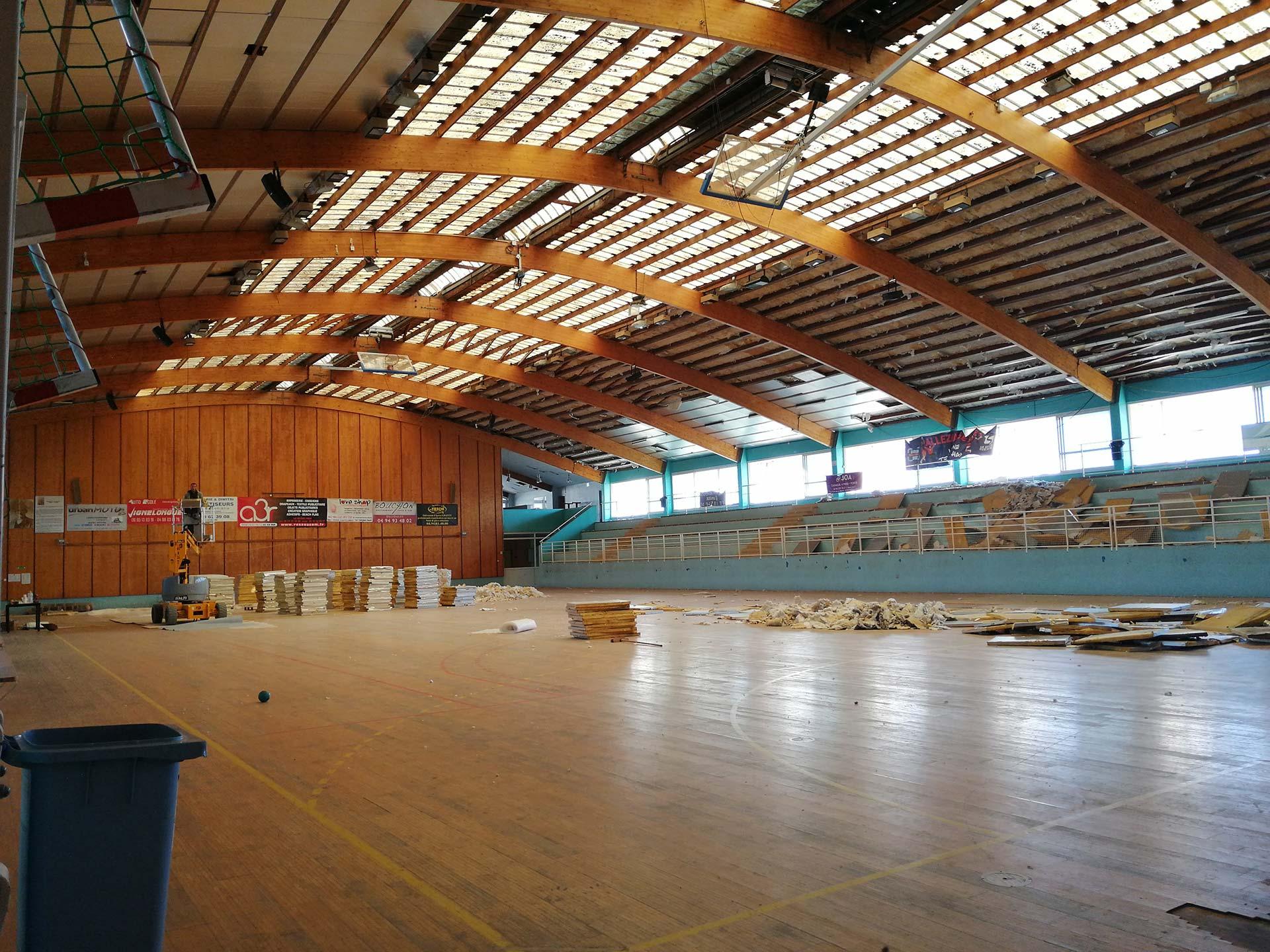 Une Réhabilitation de la Salle omnisports Maurice-Baquet à 1'325'000 d'Euros