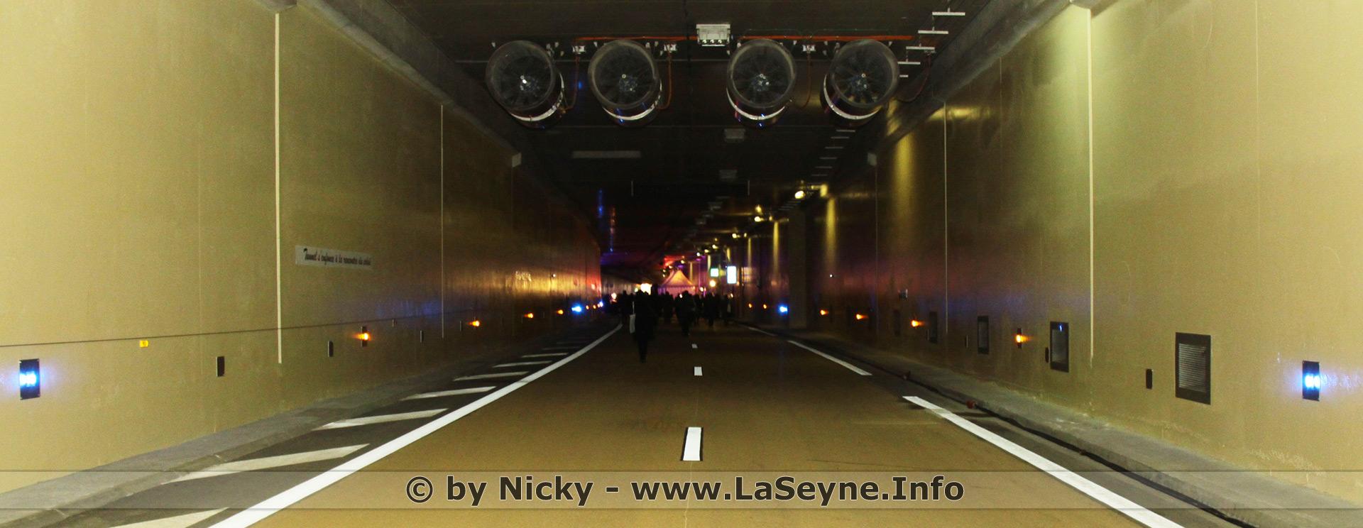 Travaux Autoroutes de la région toulonnaise + Tunnel du 17 au 21/12/18
