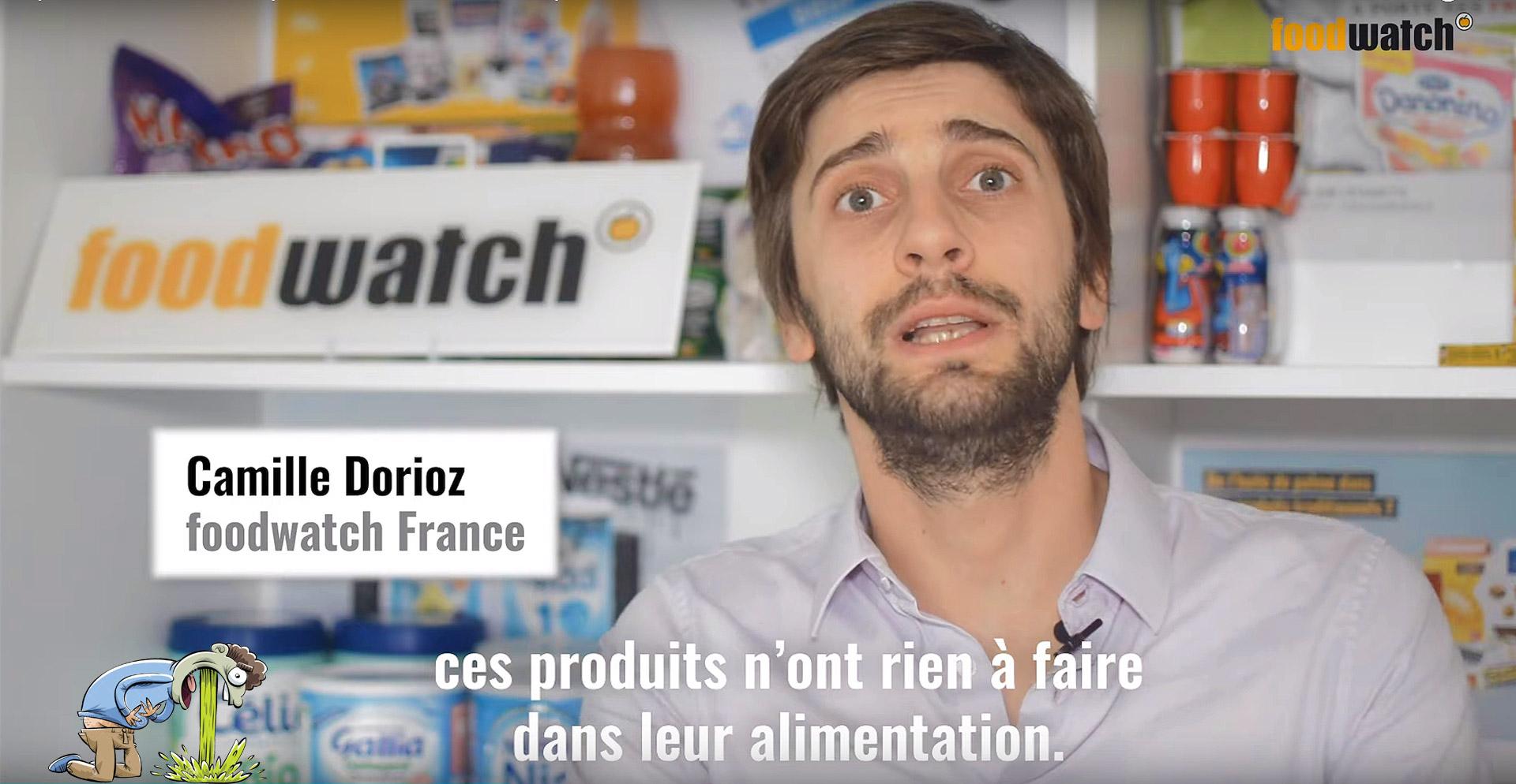 Foodwatch: Des Laits pour Bébés de Nestlé et Danone contaminés par des Huiles minérales toxiques