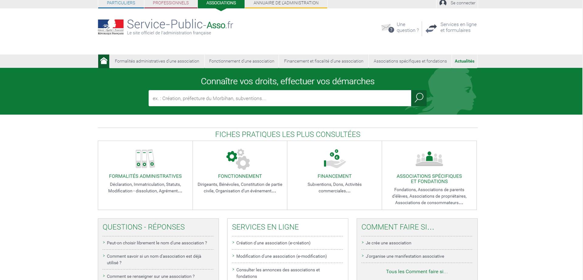 Greffe des Associations: Dématérialisation des Procédures dans le Var