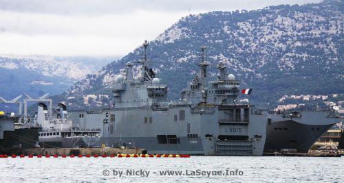 Retour de Mission Corymbe pour le Porte-Hélicoptères amphibie Dixmude, le 14/12/2020 -