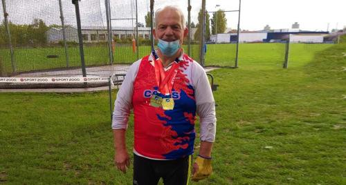 CSMS Athlétisme: Gerard GUYOT double Champion de France 2020 -