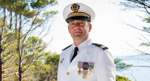 Le Lieutenant de Vaisseau Sébastien Chardigny prend le Commandement du Centre de Coordination et de Contrôle Marine de la Méditerranée (CCMAR) -