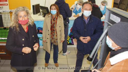 #Covid19: Un Centre de Dépistage de Tests antigéniques Express aux Sablettes -