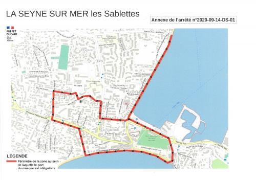 #Covid19: Obligation du Port du Masque à La Seyne,.. Rebelotte ! -
