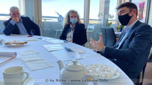 Ecologie: Rencontre entre Nathalie Bicais et deux Représentants ministériels -