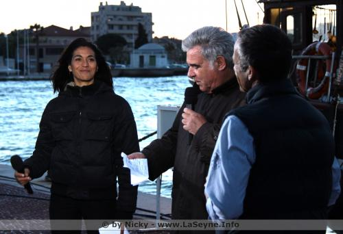 En Hommage à Georges Pernoud, re la Vidéo: Thalassa sur Seyne - en Direct de La Seyne sur Mer avec Interviews -