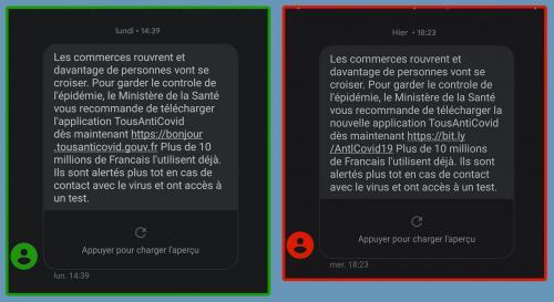 Attention Arnaques: Des faux SMS du Gouvernement qui aspirent des Données bancaires -