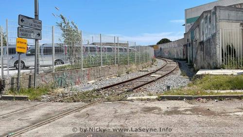 Un Train de Fretde la Garede La Seynejusqu'à Brégaillonet Retour -