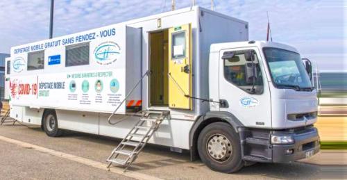 #Covid19: Une Unité mobile de Dépistage sera présente sur le Parking de l'Hôpital de La Seyne, le Vendredi 30/10/2020 -