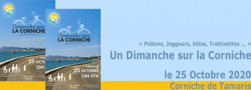 Première Edition: Un Dimanche sur la Corniche, le 25 Octobre 2020 -