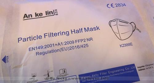 Masques: Les Mesures sanitaires sont prolongées jusqu'au 29 Juin 2021-