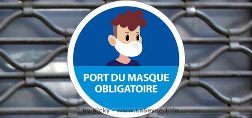 #COVID19: Après Toulon, le Port du Masque devient obligatoire dans 8 autres Communes de la Métropole Toulon Provence Méditerranée -