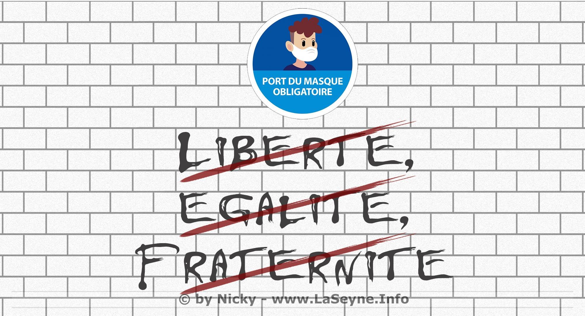 #Covid19: Obligation du Port du Masque à La Seyne,.. Rebelotte !