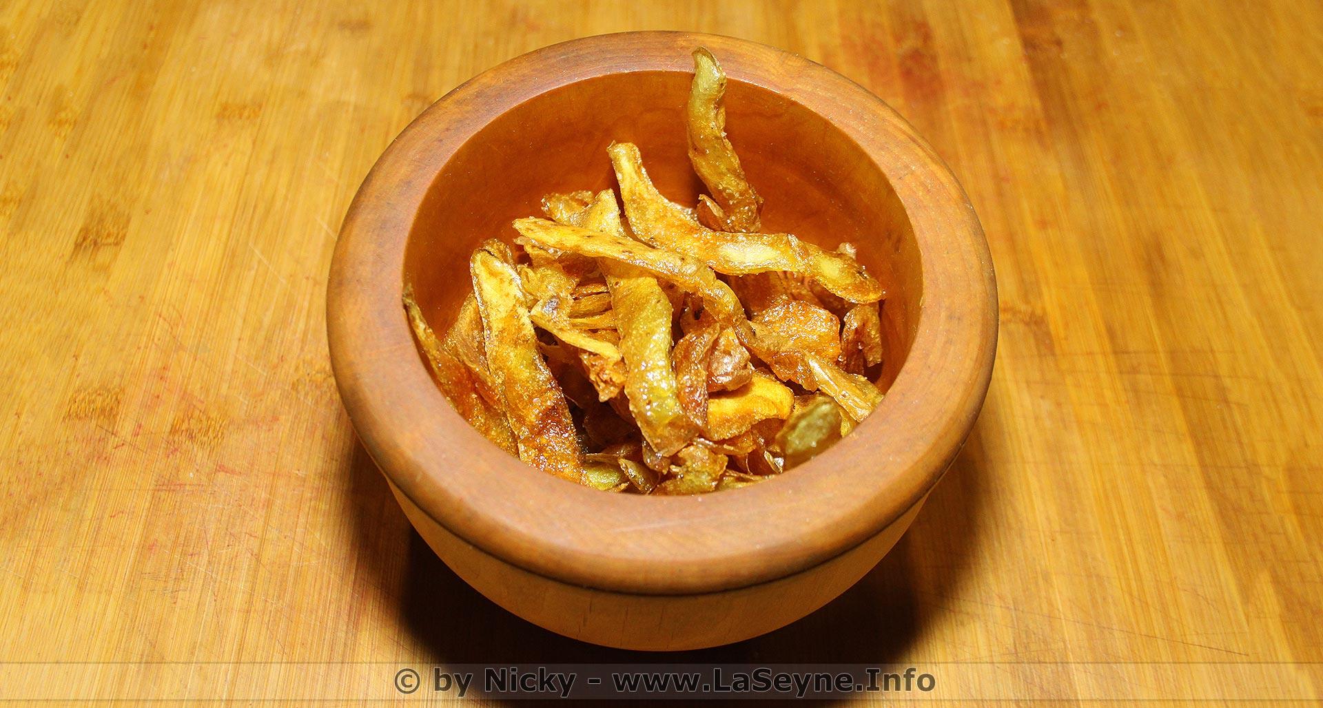 Laseyne Info Des Chips De Competition Fait Maison A Base D Epluchures De Patates